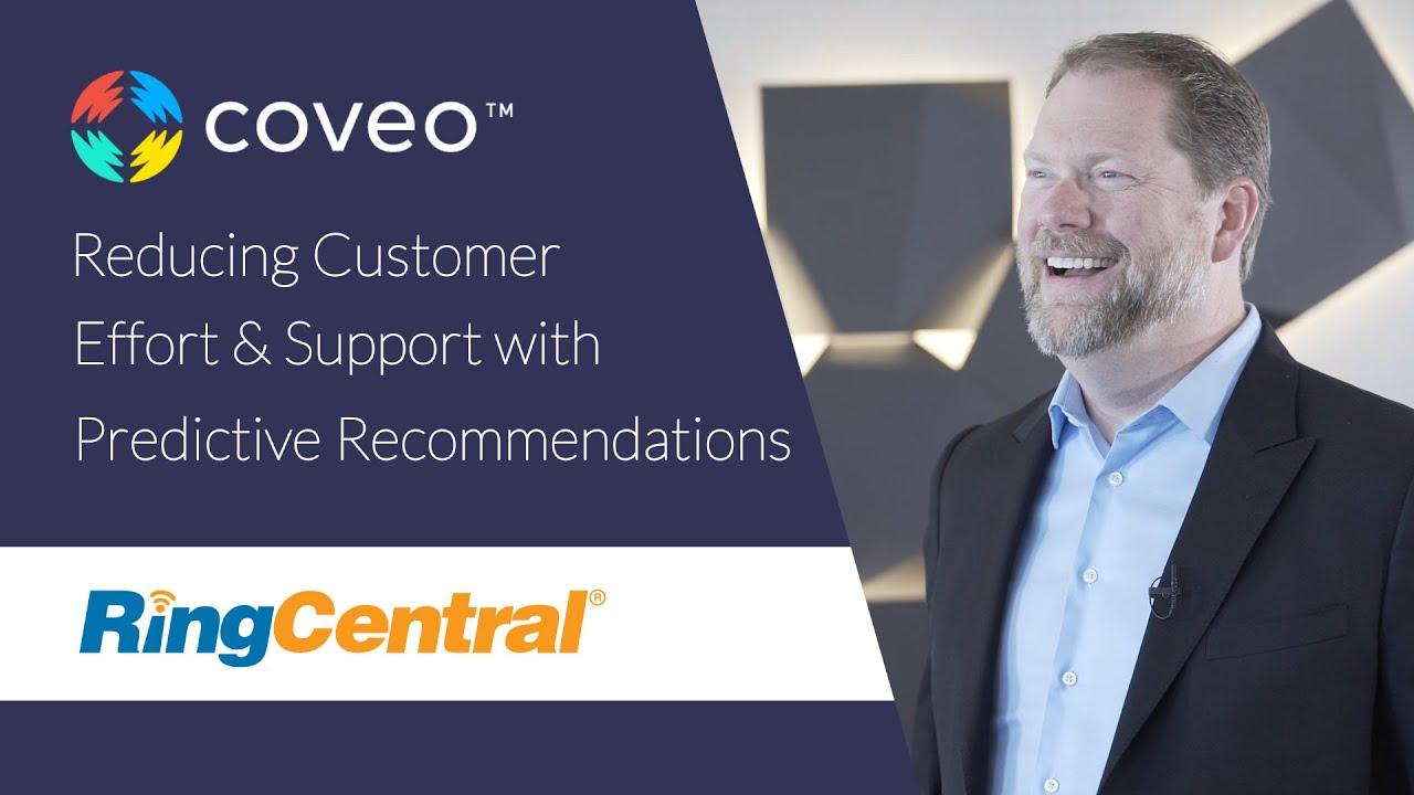 Réduire l'effort du client et soutenir avec des recommandations intuitives
