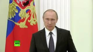 Обращение Владимира Путина к Франсуа Олланду в связи с трагедией в Ницце