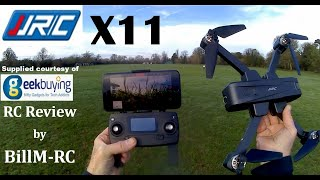 JJRC X11 review - 2K 5G WIFI FPV GPS Brushless Foldable Quadcopter Drone.