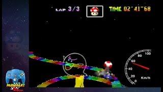 "Rainbow Road SC 3lap 3'56""07 (PAL)"