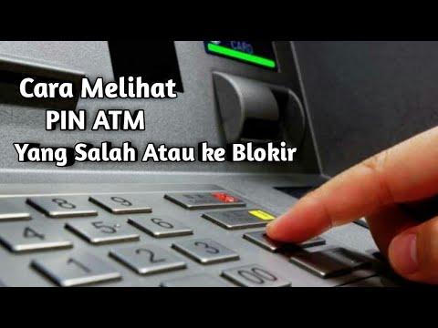 CARA MELIHAT ATM KE BLOKIR