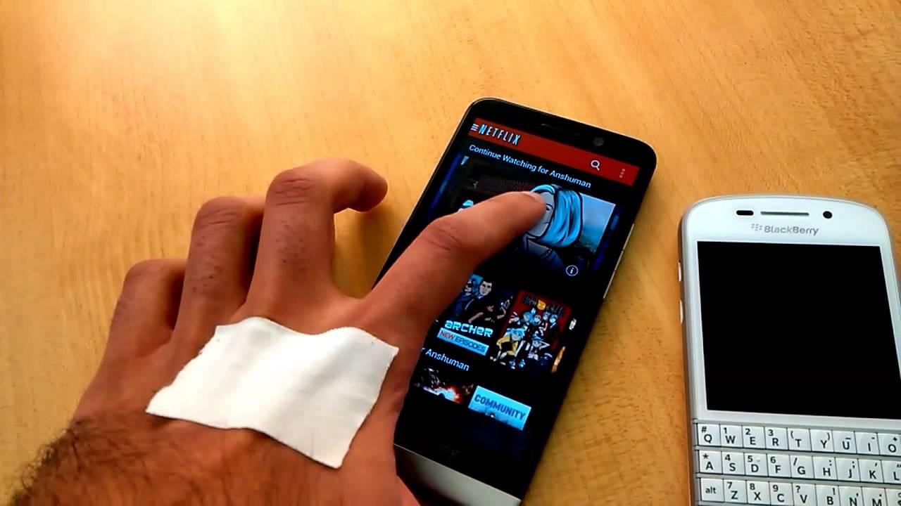 Sharing and installing Netflix APK on BlackBerry 10.2.1