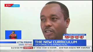 Lecturer Edward Mugambi moves to court to stop new syllabus in the education system