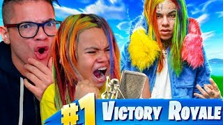 "10 YEAR OLD KID RAPS LIKE 6IX9INE ON FORTNITE WTF! ""DUMMY BOY"" FORTNITE FUNNY BATTLE ROYALE MOMENTS!"