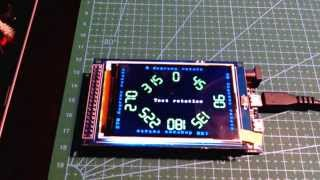 Arduino real time clock and temperature monitor project