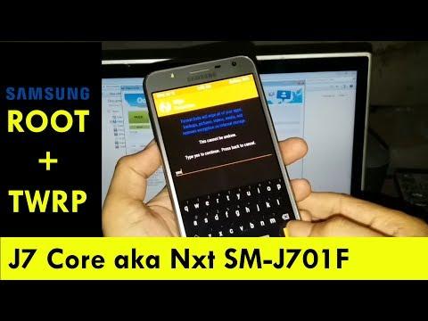 How To Root Samsung SM-J701F J7 Core J7 NXT   SM-J701F Root TWRP