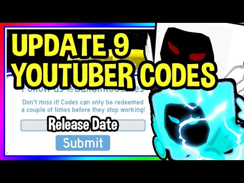 *NEW* UPDATE 9 YOUTUBER HALLOWEEN CODES Pet Simulator Roblox