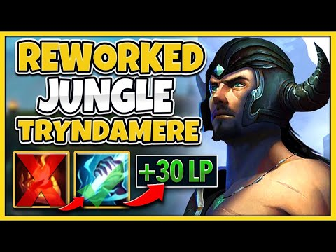 *NEW* THIS REWORK MAKES TRYNDAMERE JUNGLE AMAZING (CHALLENGER CARRY) - League of Legends