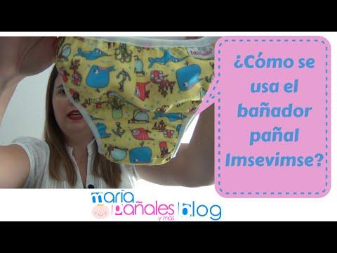 Cómo usar Bañador Pañal de Imsevimse | María Pañales y Más