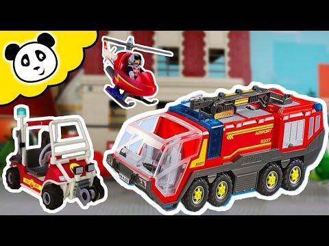 Playmobil Feuerwehr - Die Coolsten Feuerwehr Autos - Playmobil Film
