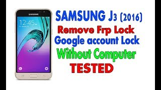 samsung j3 prime google bypass without pc - 免费在线视频最佳