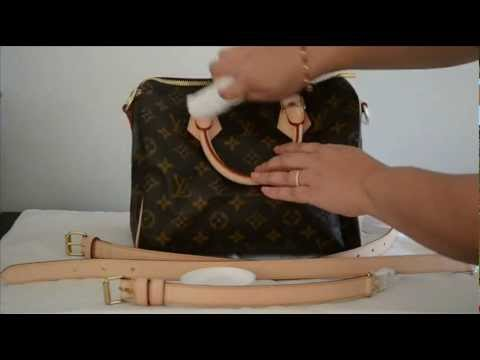 Video How To Protect & Condition Vachetta Leather - Louis Vuitton - Lovin My Bags