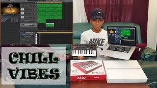 CHILL VIBES: MAKING A BEAT FROM SCRATCH WITH AKAI MPK MINI MK2