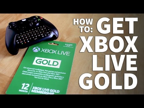 How to Get Xbox Live -  Xbox Live Gold Subscription Redeem Free Trial or Paid Code and Play Online