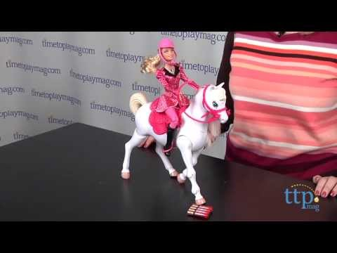 Barbie & Her Sisters in A Pony Tale Train & Ride Horse from Mattel