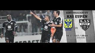 Sint Truiden Vv Eupen 4 - 4 Goals & Highlights * Belgian Division A 04 11 2017