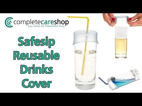 Safesip Drinks Cover - Prevents Spillages