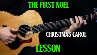 """how to play """"The First Noel"""" on guitar 