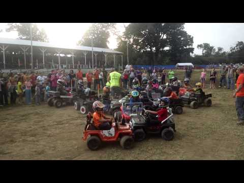Powerwheel demo derby Cayuga indiana
