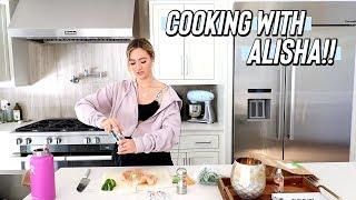 cooking with alisha!