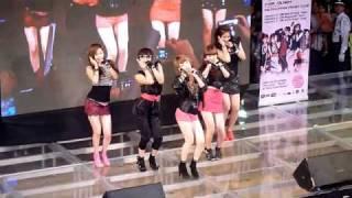 [fancam] 20100206 4Minute in SM Megamall - Intro + Muzik