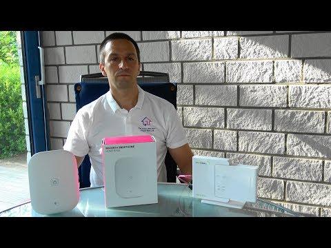 Telekom SmartHome Base 2 im Vergleich mit Qivicon Home Base 1
