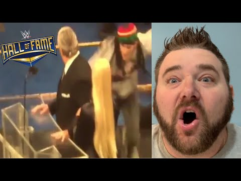Bret Hart Tackled By Deranged Fan at WWE Hall of Fame! Footage and Opinion