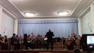 Форэ Павана соло: Слепцова Наталья флейта 9 кл., Кириков Дмитрий кларнет 11 кл.