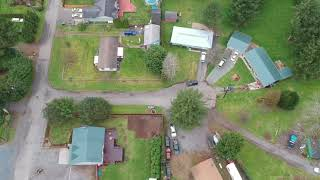 Flying my drone over the Skykomish River Sultan Washington