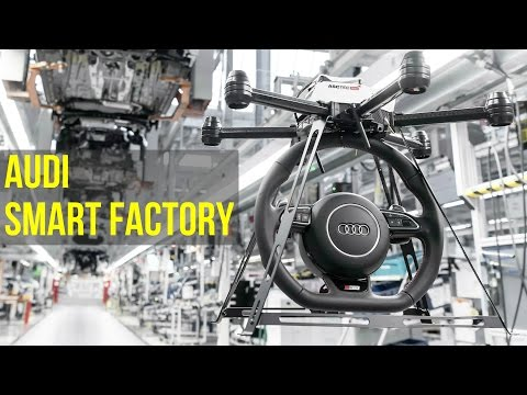 2016 Audi Smart Factory - Future of Audi Production