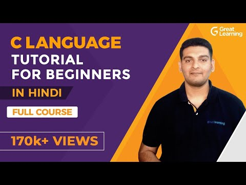 C Language Tutorial For Beginners In Hindi | C Programming For beginners | Great Learning