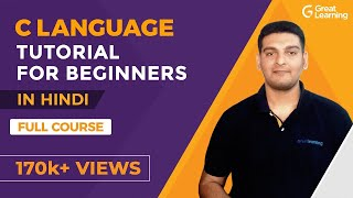 C Language Tutorial For Beginners In Hindi   C Programming For beginners   Great Learning
