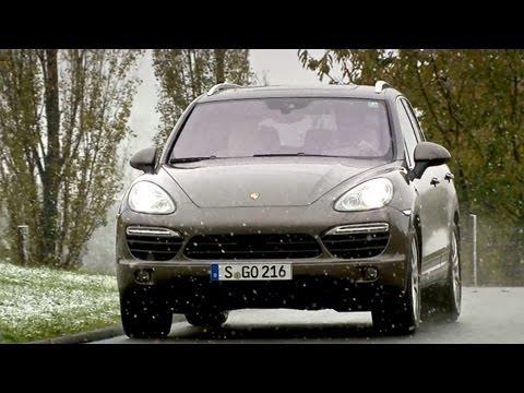 2013 Porsche Cayenne S Diesel 4.2 V8 382 hp (DRIVING) [HD]