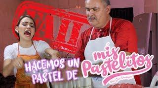 MI PAPÁ Y YO HACEMOS UNA RECETA DE MIS PASTELITOS | Soyalerios