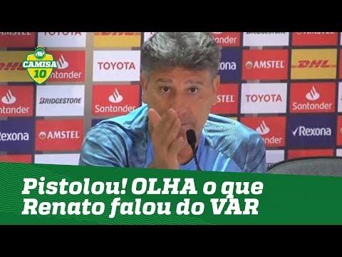 OLHA o que Renato falou do VAR após eliminação do Grêmio! 092c240ee2dba