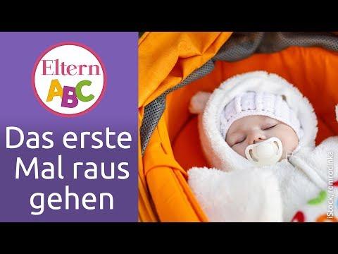 Spazieren mit Baby: Das erste Mal rausgehen | Baby | Eltern ABC | ELTERN