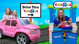 Drive Thru Toys R US Store PRANK Kid Video !!!