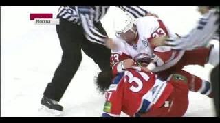 Джереми Яблонски и Дарси Веро (Витязь- ЦСКА (1:2))