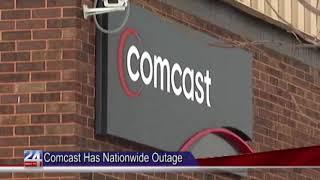 Comcast Facing Major Outages
