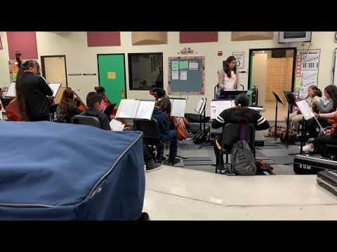 Teaching Sample - Middle School Orchestra