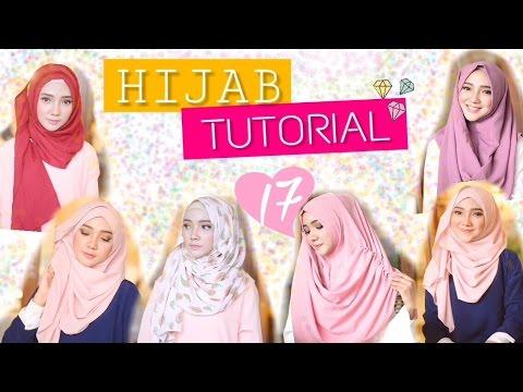 Video Hijab Tutorial 17 - Hijab Instan dengan Berbagai Model   ayuindriati