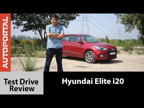 2018 Hyundai Elite i20 Test Drive Review - Autoportal