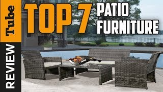 ✅Furniture: Best Outdoor Furniture (Buying Guide)
