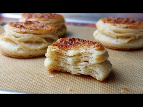 Butter Puff Biscuit Dough – Shortcut Puff Pastry Dough