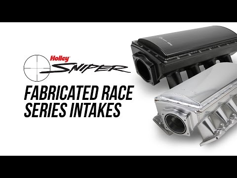 Holley Sniper Sheet Metal Fabricated Race Series Intake Manifolds