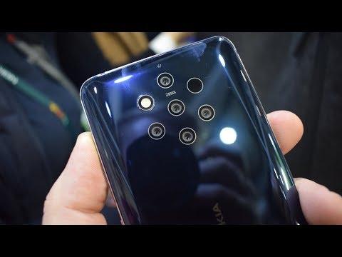 Nokia 9 Pureview, lo smartphone con 5 fotocamere posteriori