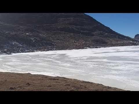 Frozen Sela Lake, Sela Pass, Arunachal Pradesh