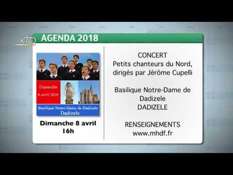 Agenda du 22 mars 2018