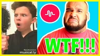 DANTE WATCHES CRINGY MUSICAL.LY'S! (PART 1)