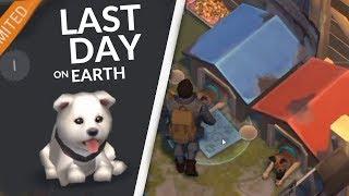 КУПИЛ ЩЕНКА! СТРОИМ ВОЛЬЕР ДЛЯ СОБАК  - Last Day on Earth: Survival